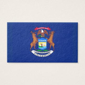 Michigan State Flag Design Business Card