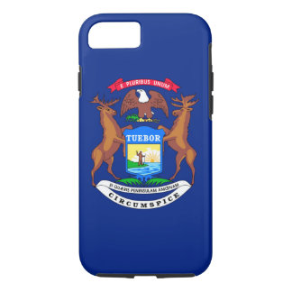 Michigan State Flag Design iPhone 7 Case