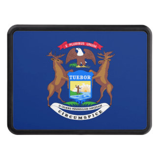 Michigan State Flag Hitch Covers