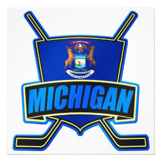 Michigan State Flag Hockey Logo Announcements