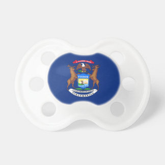 Michigan State Flag Pacifier