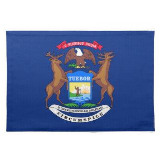 Michigan State Flag Place Mats