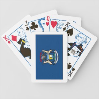 Michigan State Flag Playing Cards