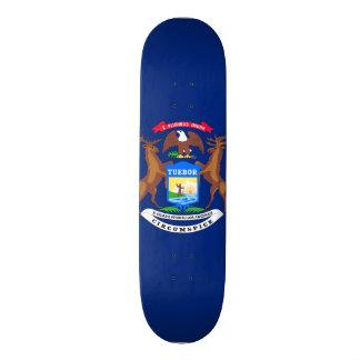 Michigan State Flag Skate Board Decks