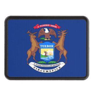 Michigan State Flag Tow Hitch Covers