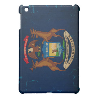 Michigan State Flag VINTAGE png iPad Mini Cases