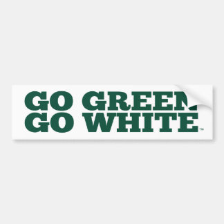 Michigan State® Go Green Go White™ Bumper Sticker