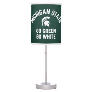Michigan State | Go Green Go White Table Lamp