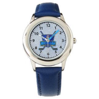 Michigan State Hockey Logo Wrist Watch