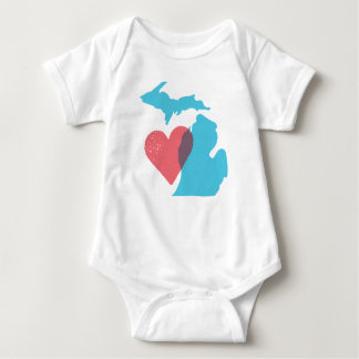 Michigan State Love Baby Shirt