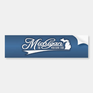 Michigan State of Mine Bumper Sticker