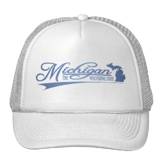 Michigan State of Mine Mesh Hat