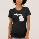 Michigan State Outline T Shirt
