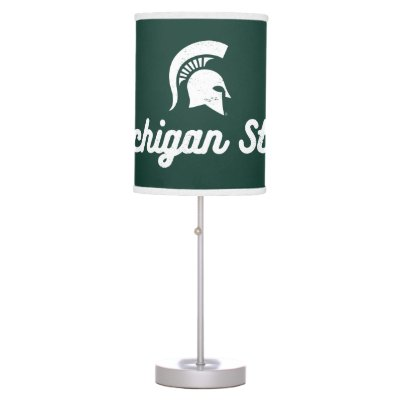 Brilliant Msu Spartan Table Lamp Zazzle Com Home Interior And Landscaping Palasignezvosmurscom