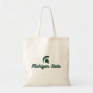 Michigan State   Script Logo Tote Bag