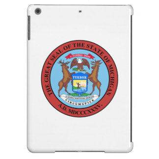 Michigan State Seal Cover For iPad Air