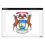 Michigan State Seal Laptop Skin