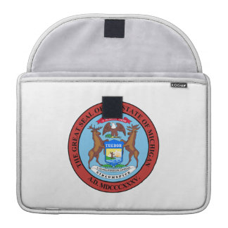 Michigan State Seal Sleeve For MacBooks