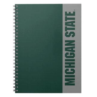 Michigan State Spartan Notebook