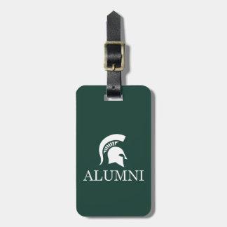 Michigan State University Alumni Bag Tag