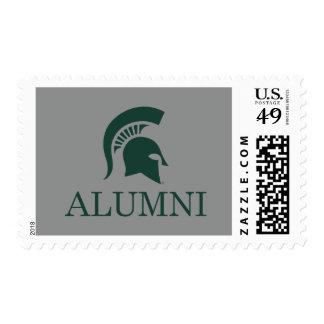 Michigan State University Alumni Postage Stamp