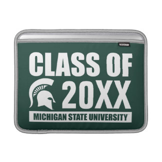 Michigan State University Class of MacBook Air Sleeves