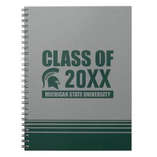 Michigan State University Class of Notebook