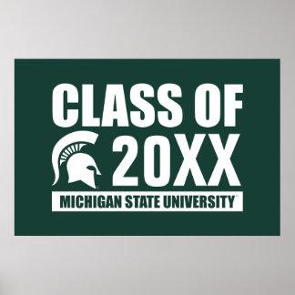 Michigan State University Class of Poster