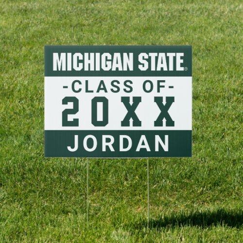 Michigan State University Class of Sign
