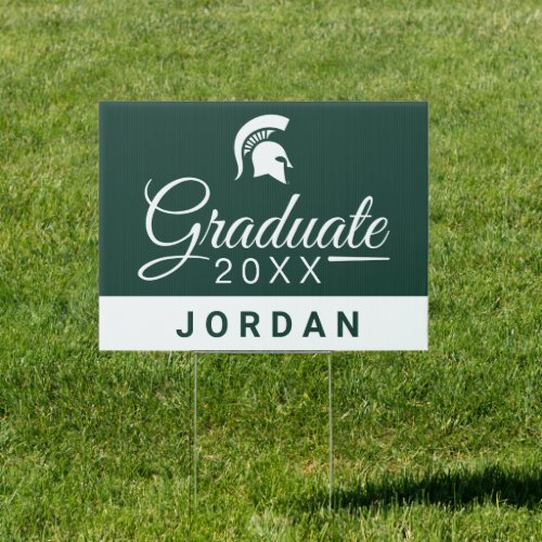 Michigan State University Graduate Sign