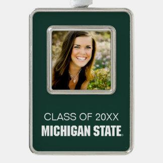 Michigan State University Graduation Christmas Ornament