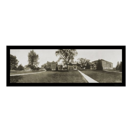 Michigan State University Photo 1912 Poster