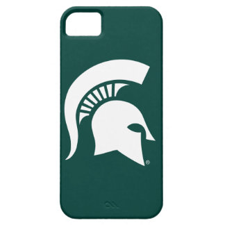 Michigan State University Spartan Helmet Logo iPhone SE/5/5s Case