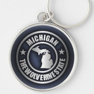 """""""Michigan Steel"""" Keychains (Blue)"""