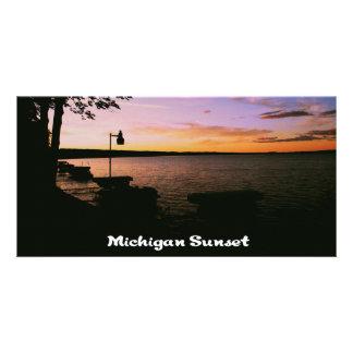 Michigan Sunset Card