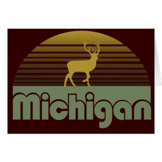 Michigan Tarjeta De Felicitación