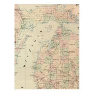 Michigan Tarjeta Postal