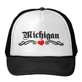 Michigan Tattoo Trucker Hat