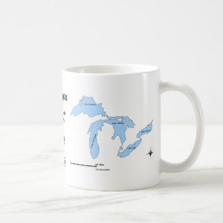 Michigan Taza Básica Blanca