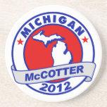 Michigan Thad McCotter Drink Coaster