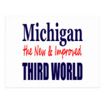Michigan the New & Improved THIRD WORLD Post Cards