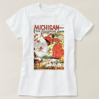 Michigan the Wolverine State T-Shirt