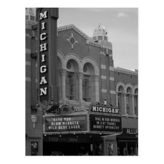 Michigan Theater Postcard