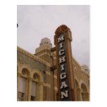 Michigan Theatre Postcard