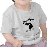 Michigan - tierra del hogar libre de Buick Camiseta