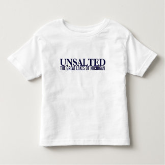 Michigan Unsalted Kids Toddler Shirt