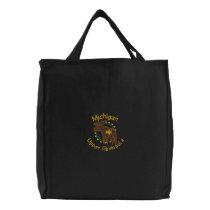 Michigan UP Moose Embroidered Bag