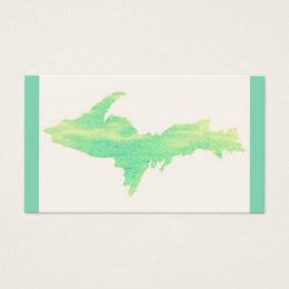Michigan Upper Peninsula Business Cards