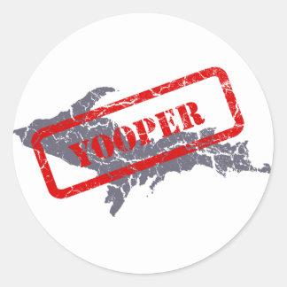 Michigan Upper Peninsula Yooper Sticker