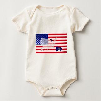 Michigan, USA Baby Bodysuit